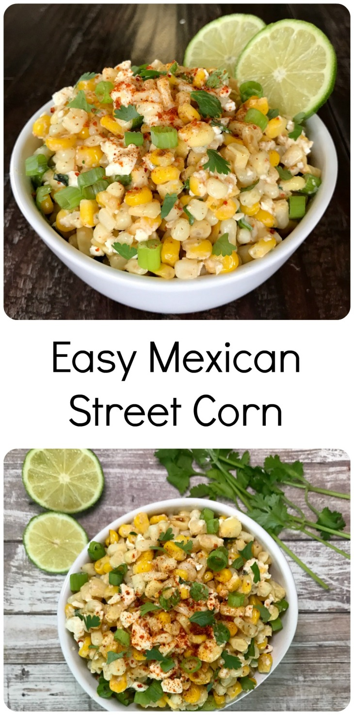 Easy Mexican Street Corn