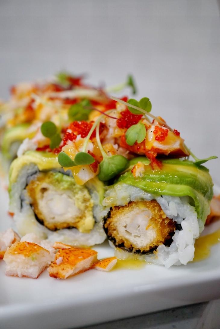 Yo Sushi Lobster Roll