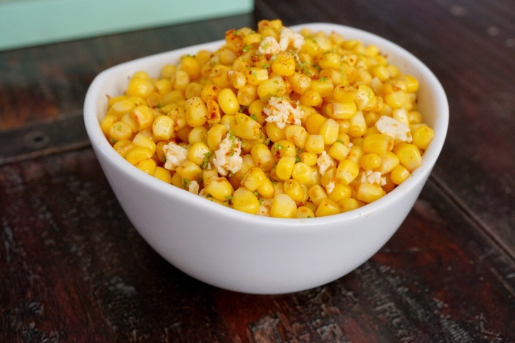 Modified Mexican Street Corn