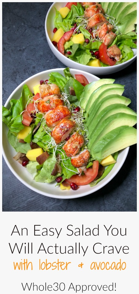 Whole30 Recipes Lobster Salad With Avocadopin2