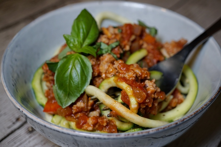 whole30 recipes mushroom bolognese
