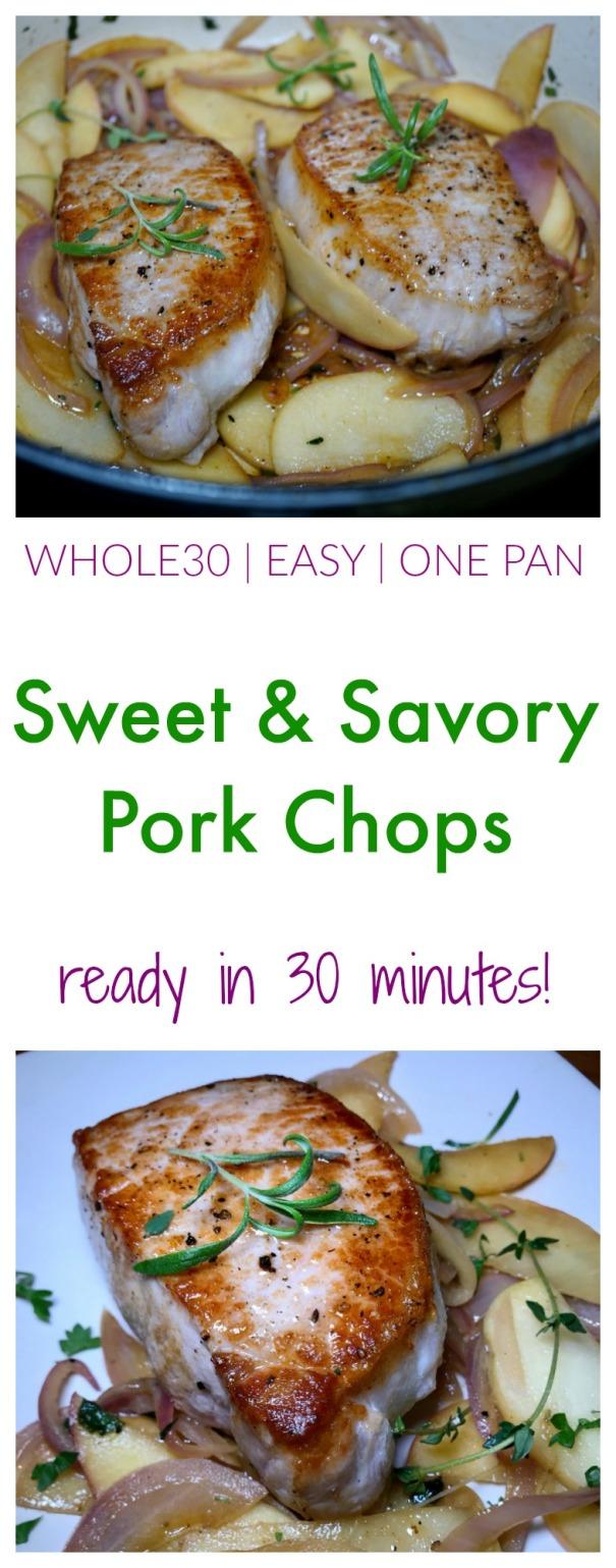 Whole30 Sweet And Savory Pork Chops